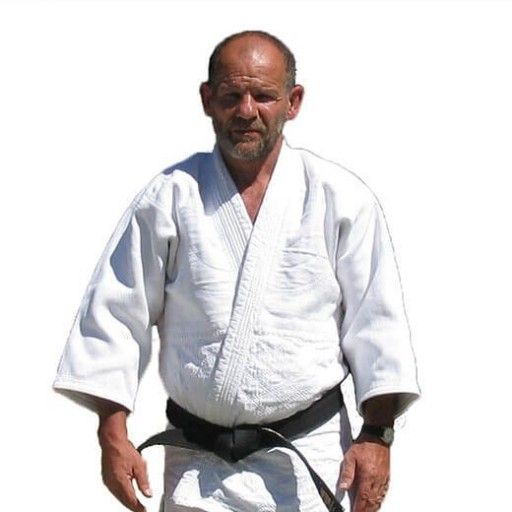 Étienne Picard, professeur de judo