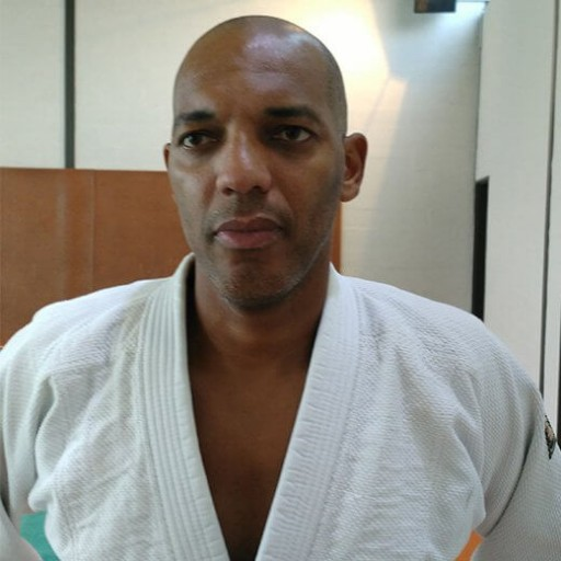 Pascal André, professeur de judo
