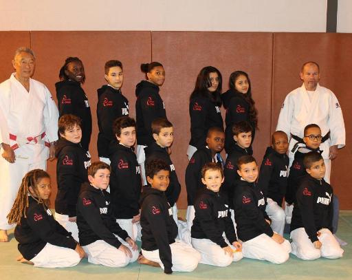 tenues de compétition du club judo